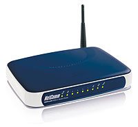 NetComm NB6Plus4W ADSL router with wireless