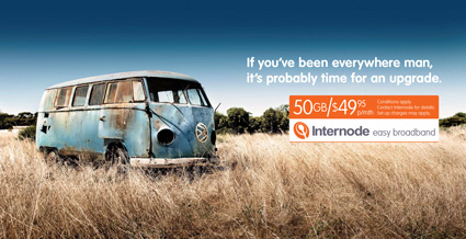 Internode Easy Broadband Advertisement